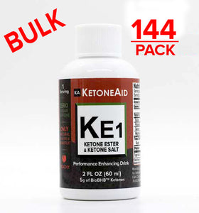 BULK - KE1 Ketone Ester & Ketone Salt Mix - 6x 24 Pack= 144 bottles (DILUTED VERSION) ~$5.50 a bottle