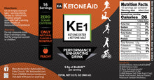 KetoneAid KE1 Ketone Ester & Ketone Salt Blend (Limited Stock)