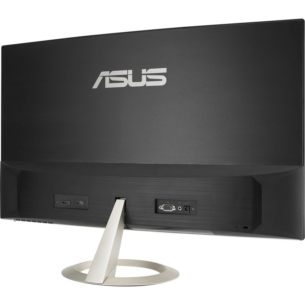 Asus Vz27Vq 27 Inch Curved Ultra Slim Dp Hdmi Monitor