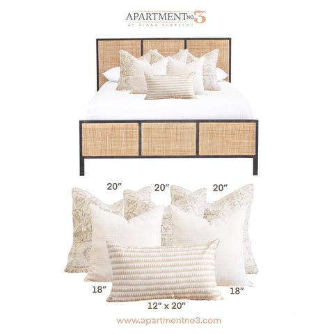 Bed Pillow Combinations and Arrangement