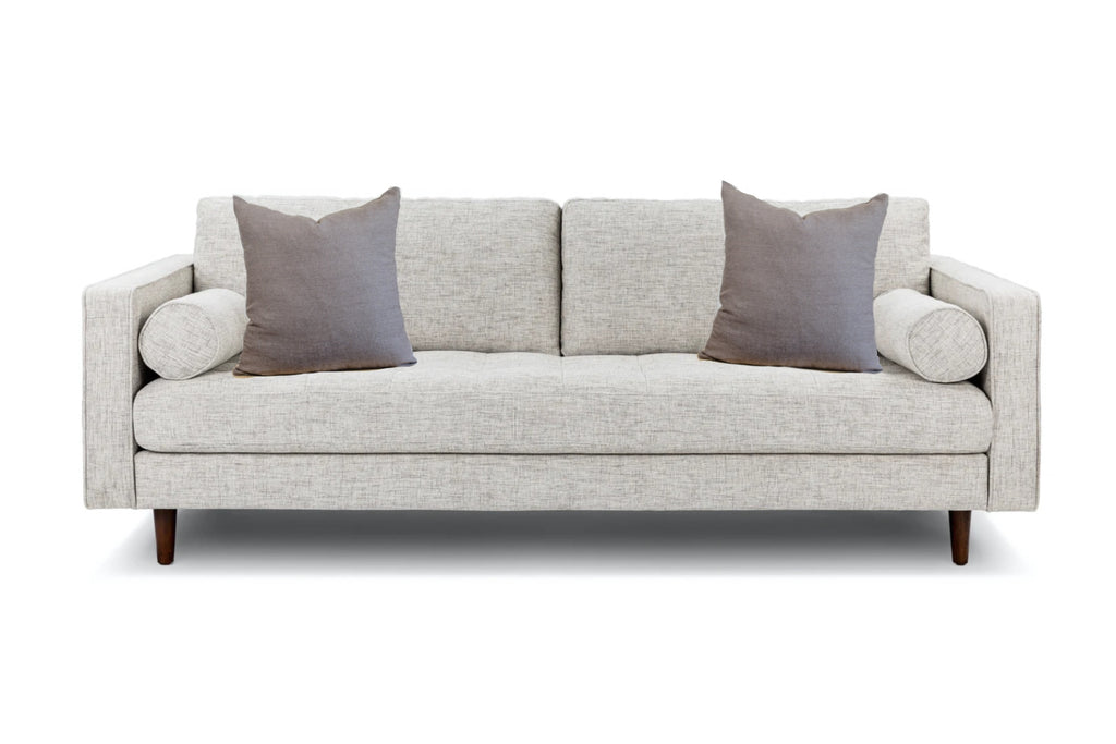 Standard couch and Linen Pillows