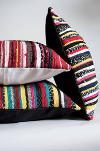 Colorful Striped Handmade Bohemian Pillows