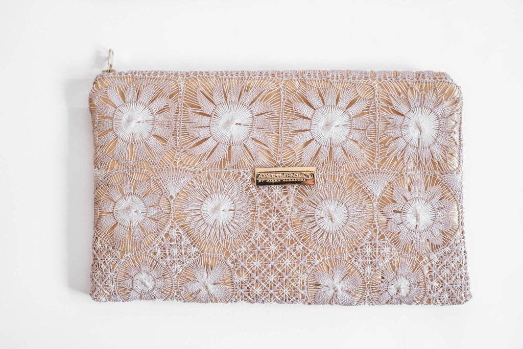 Front of Embroidered Clutch