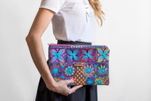 Load image into Gallery viewer, Hand Embroidered Lace Clutch