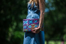 Load image into Gallery viewer, Hand Embroidered Colorful Purse