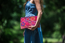 Load image into Gallery viewer, Hand Embroidered Clutch