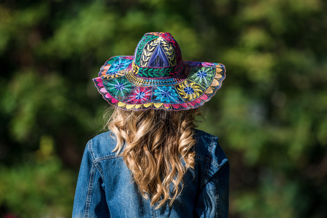 Ñanduti Sun Hat 04 | Medium
