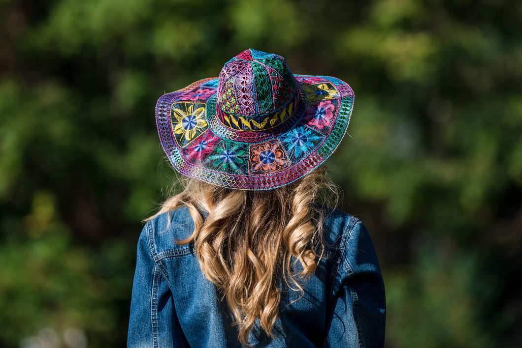 Ñanduti Sun Hat 01 | Medium