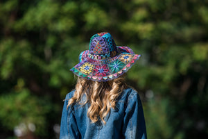 Ñanduti Sun Hat 08 | Medium