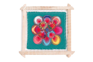 Original Ñanduti Art Frame | Small | 10 x 10 in