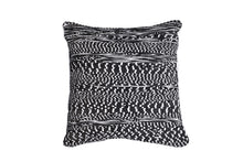 Load image into Gallery viewer, White and Black Abstract Trapo Pillow Cover | 20 x 20