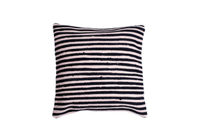 two color striped pillows