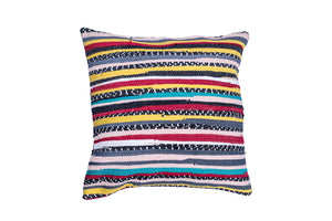 Stripes of Color Trapo Pillow Cover | 20 x 20