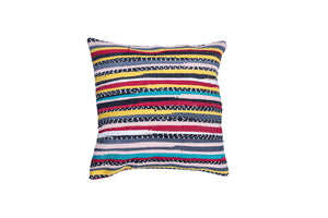 Colorful Striped Handmade Bohemian Pillow