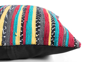 boho chic pillow