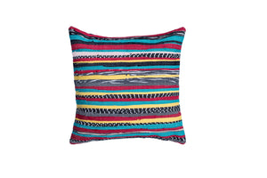 Striped Colorful Pillow