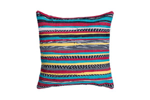 Vibrant Boho Trapo Pillow Cover | 20 x 20