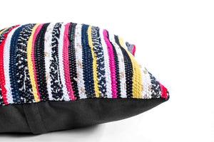 hand loomed bohemian pillow
