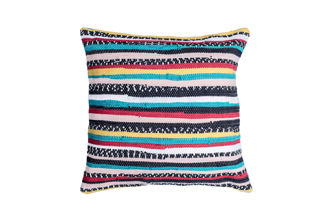 Multicolor Trapo Pillow Cover | 20 x 20