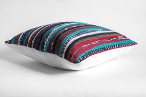 hand loomed pillow cover