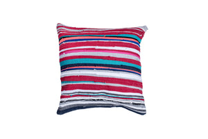 Colorful hand loomed Pillow