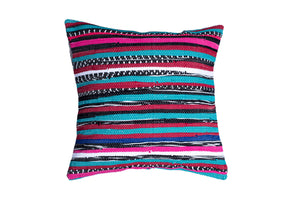 Mixed Bohemian Trapo Pillow Cover | 20 x 20