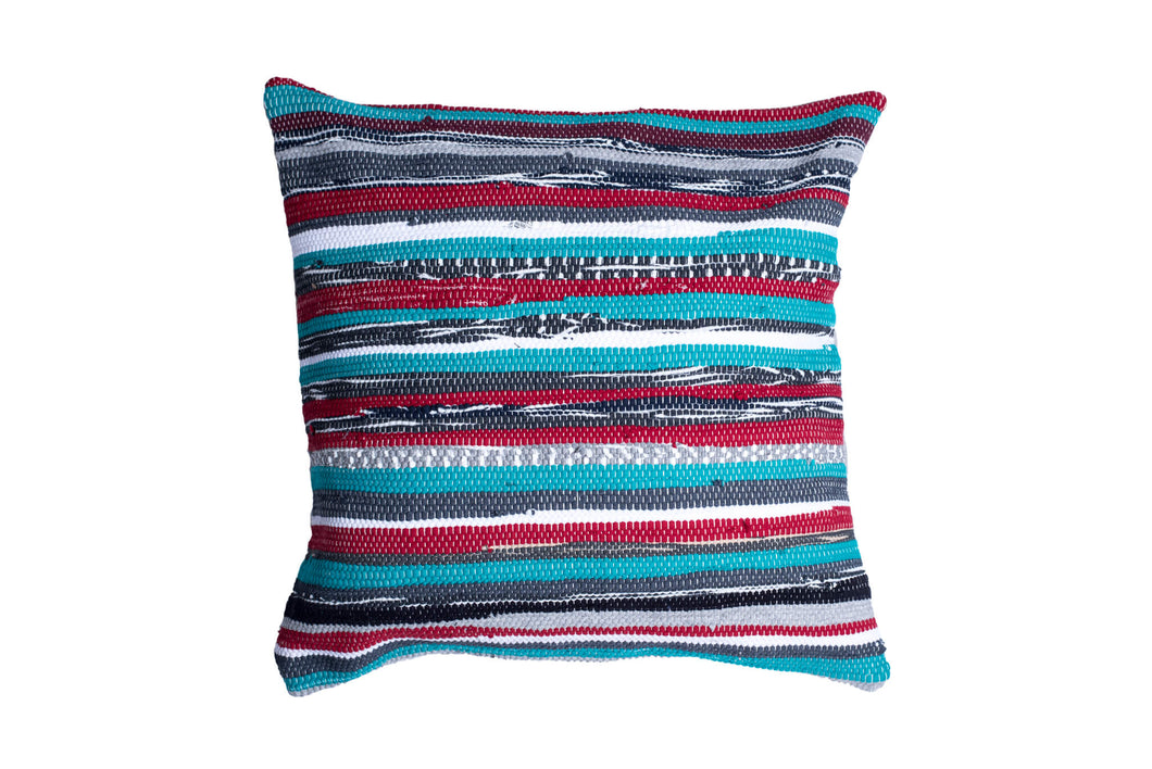 Green Shades Trapo Pillow Cover | 20 x 20