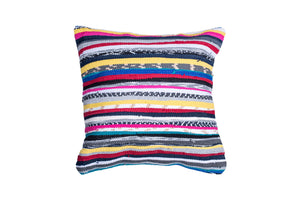 Textured and Colorful Trapo Pillow Cover | 20 x 20