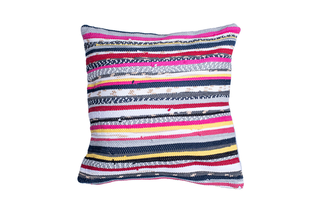 Eclectic & Vibrant Trapo Pillow Cover | 20 x 20