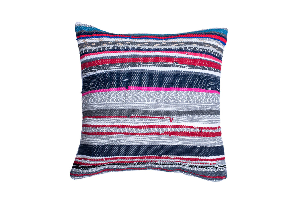 Striped Contemporary Trapo Pillow Cover | 20 x 20