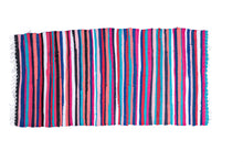 Load image into Gallery viewer, Colorful Striped Handmade Bohemian Rug