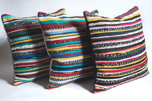 Textured Hand loomed Pillows
