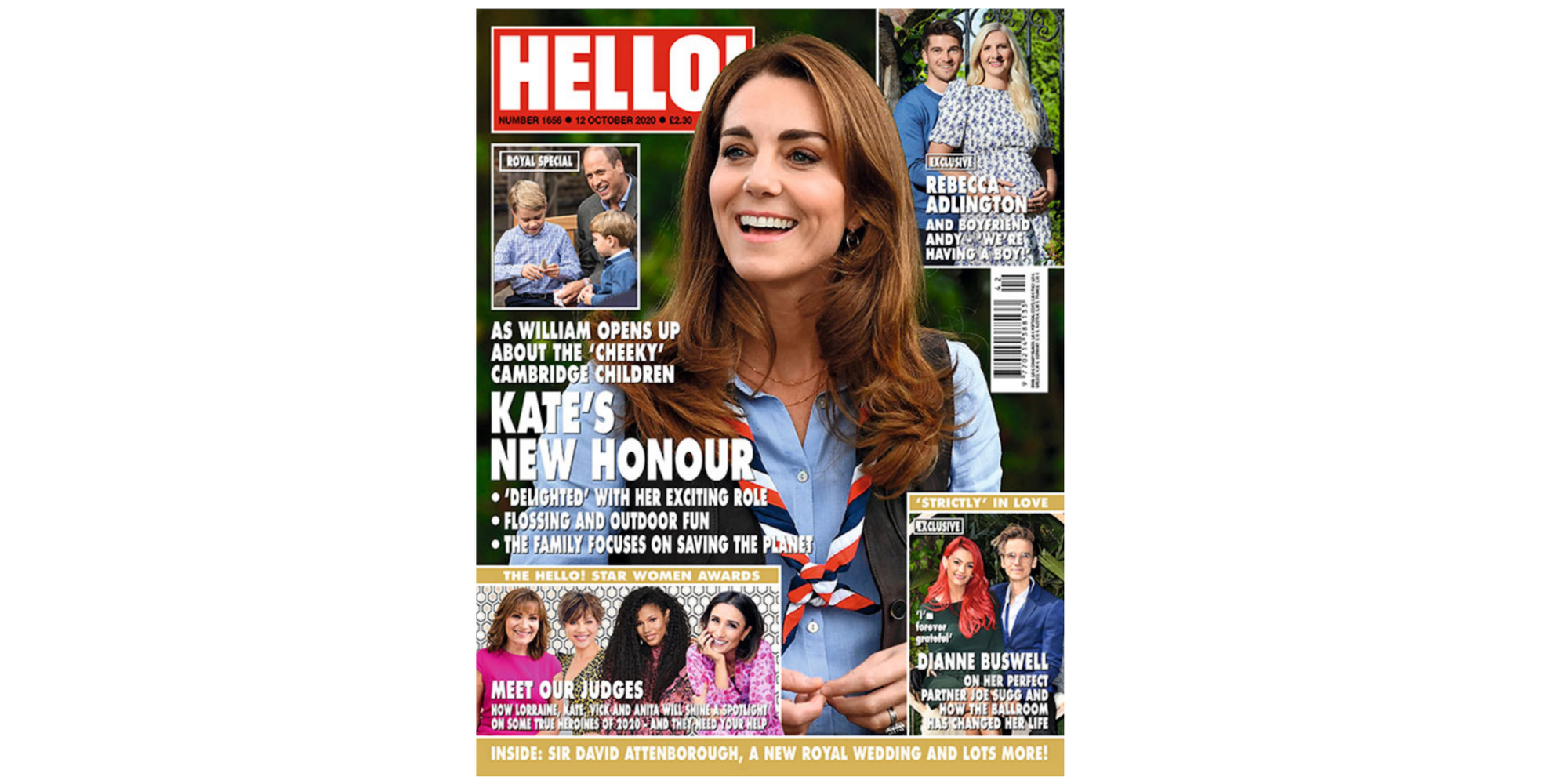 Find us in this weeks Hello Magazine !
