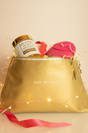 Gold Beauty Bag