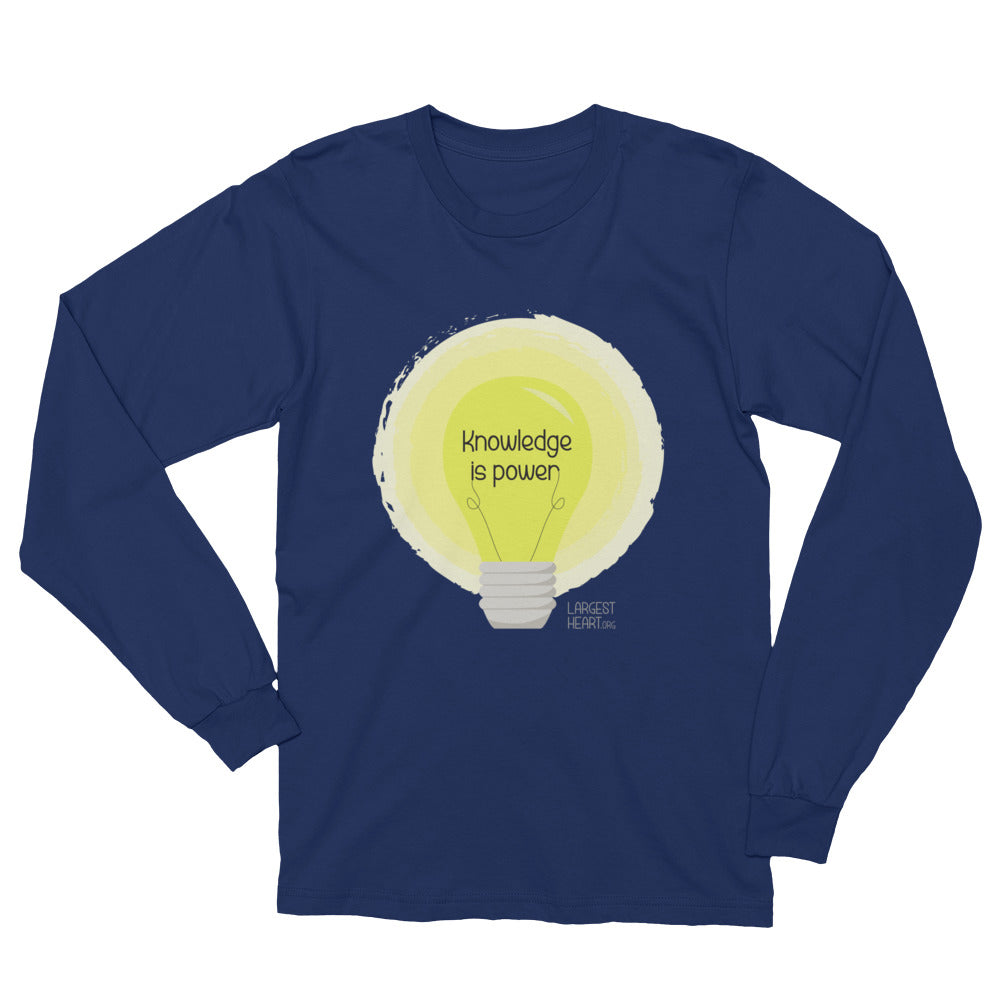 Long Sleeve T-Shirt - Knowledge is Power