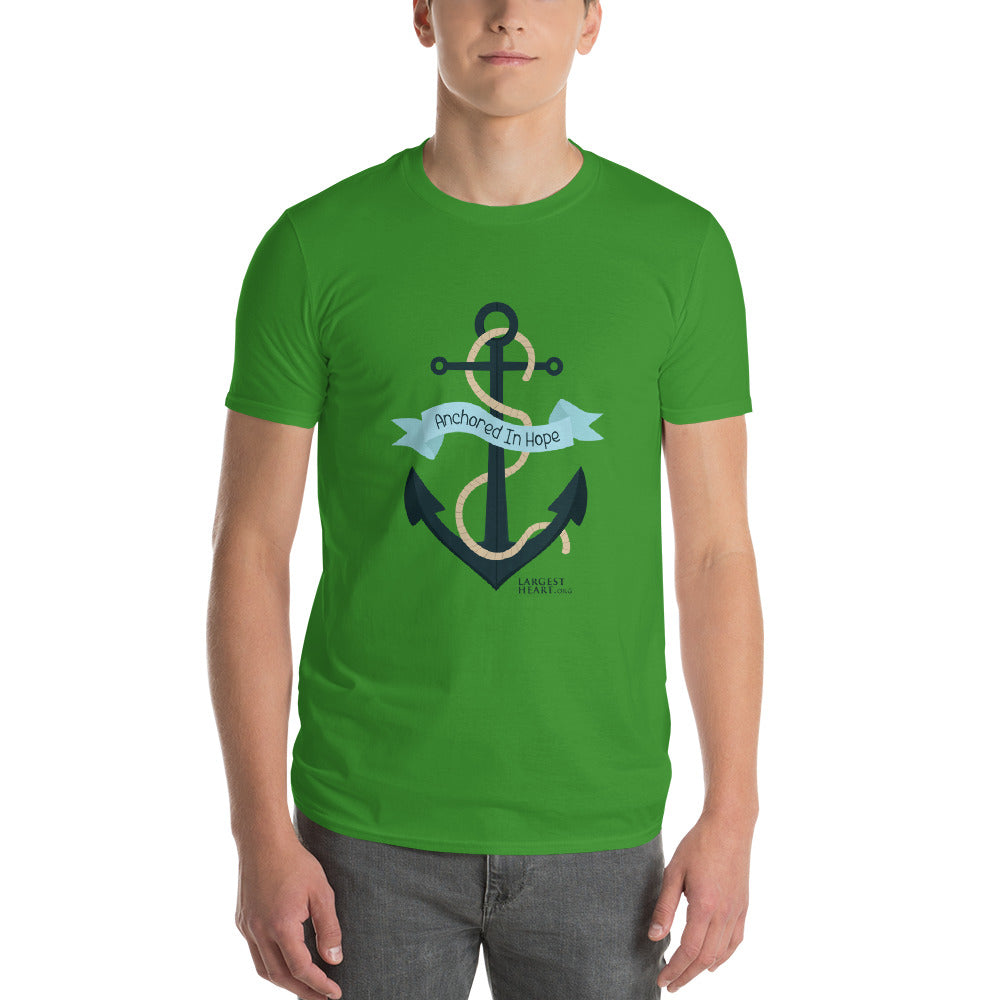 Men's Short Sleeve T-Shirt - Anchored