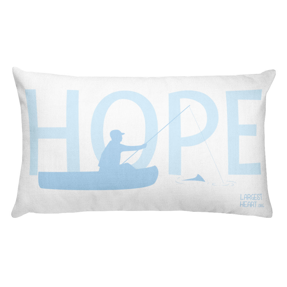 Rectangular Pillow - Hope Canoe