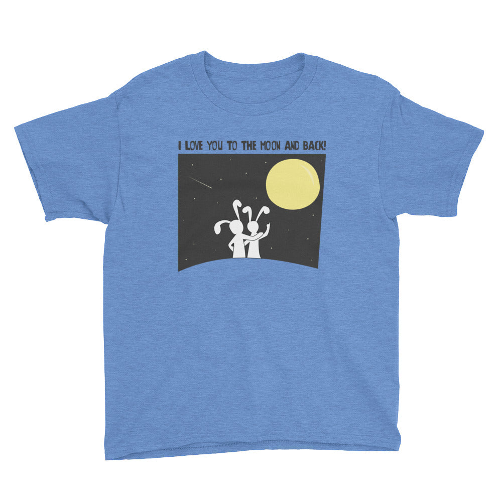 Youth Short Sleeve T-Shirt - Moon