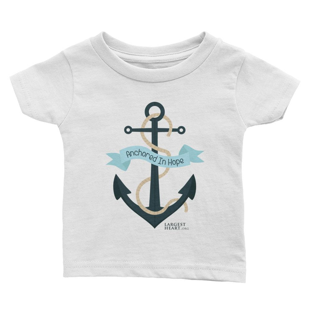 Baby Cotton Tee - Anchores
