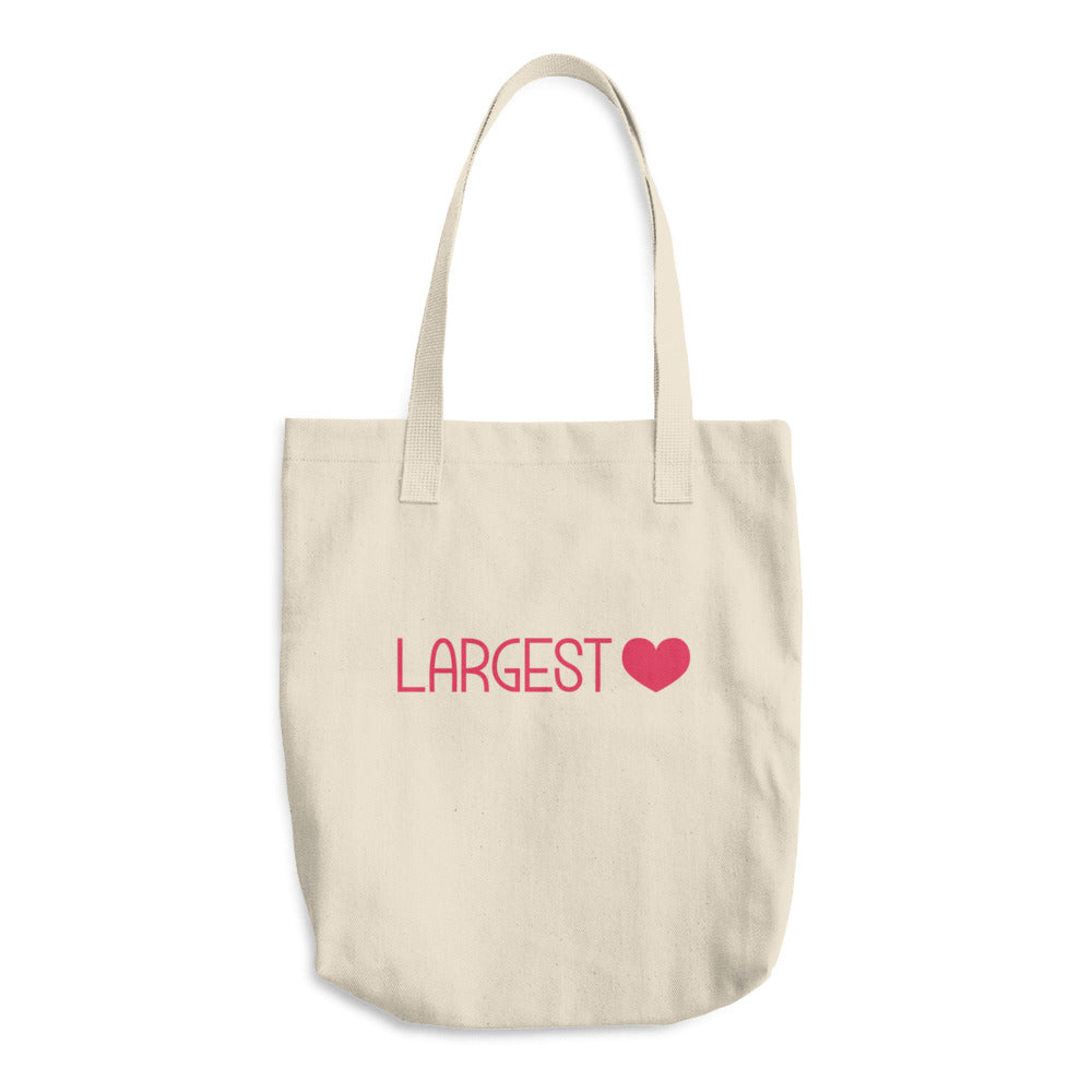 The Classic Tote - Largest Heart