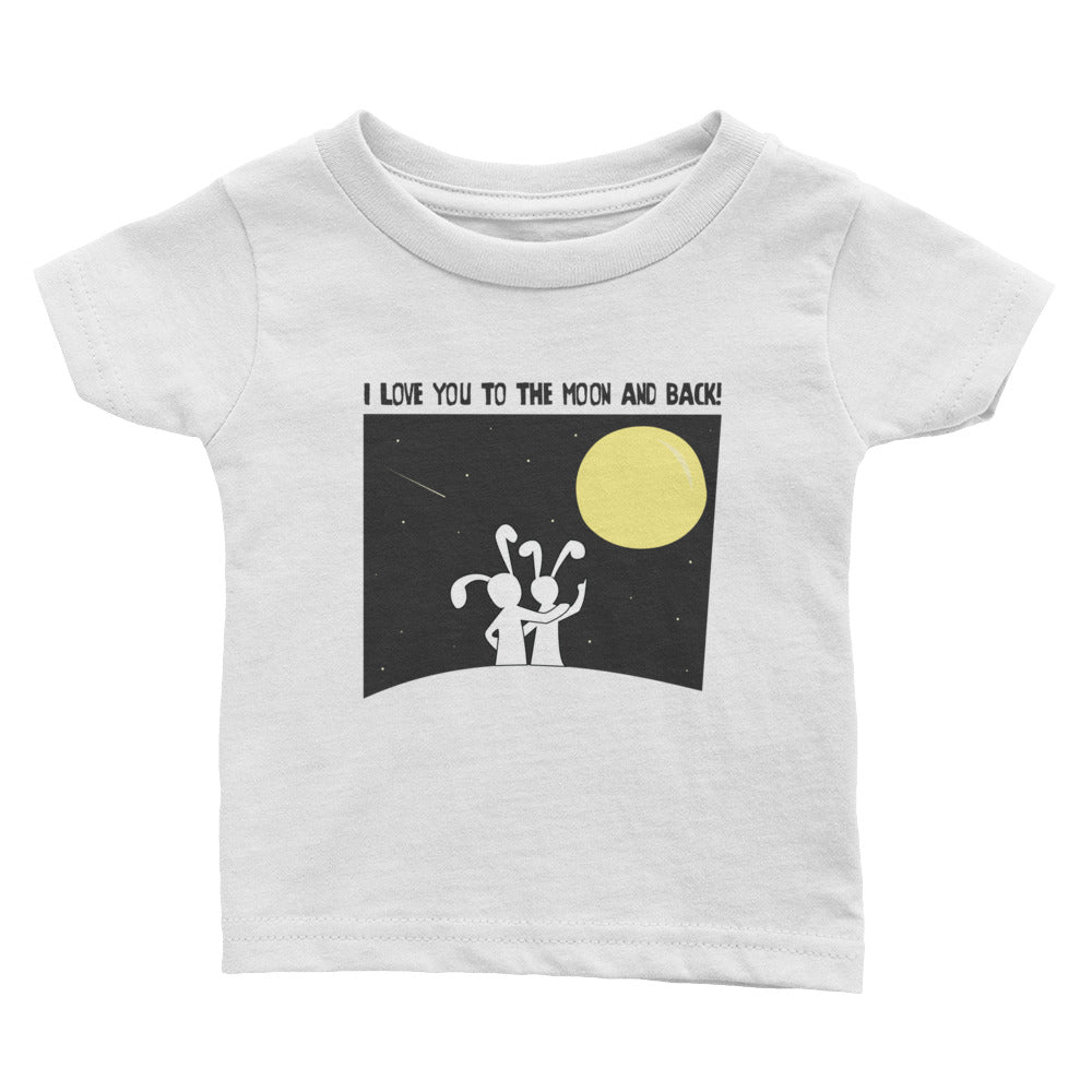 Baby Cotton Tee - Moon