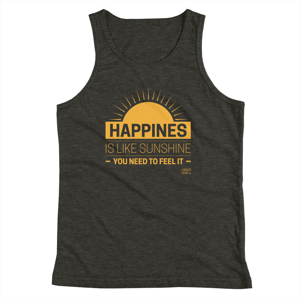 Youth Tank Top - Happiness
