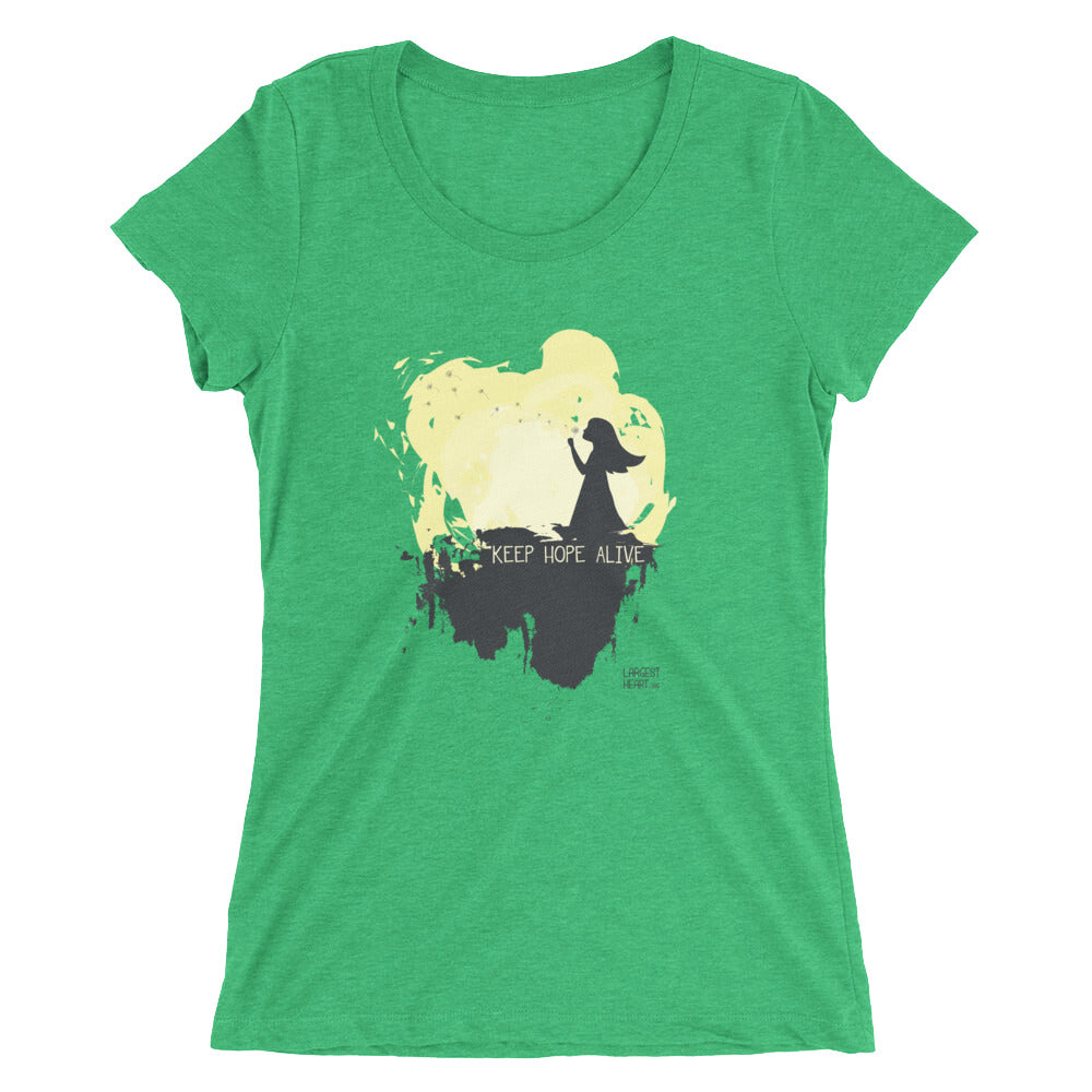 Ladies' short sleeve t-shirt - Keep Hope Alive
