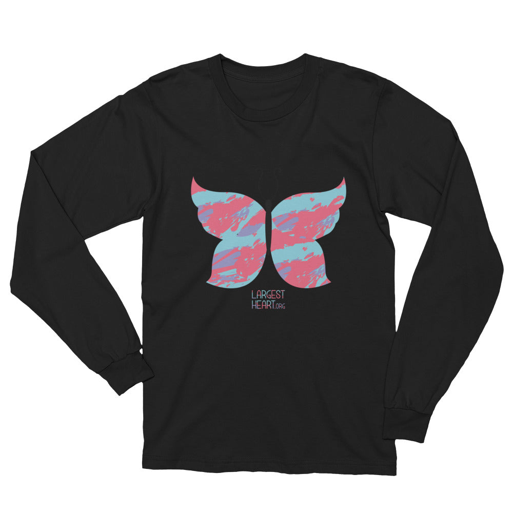 Long Sleeve T-Shirt - Butterfly