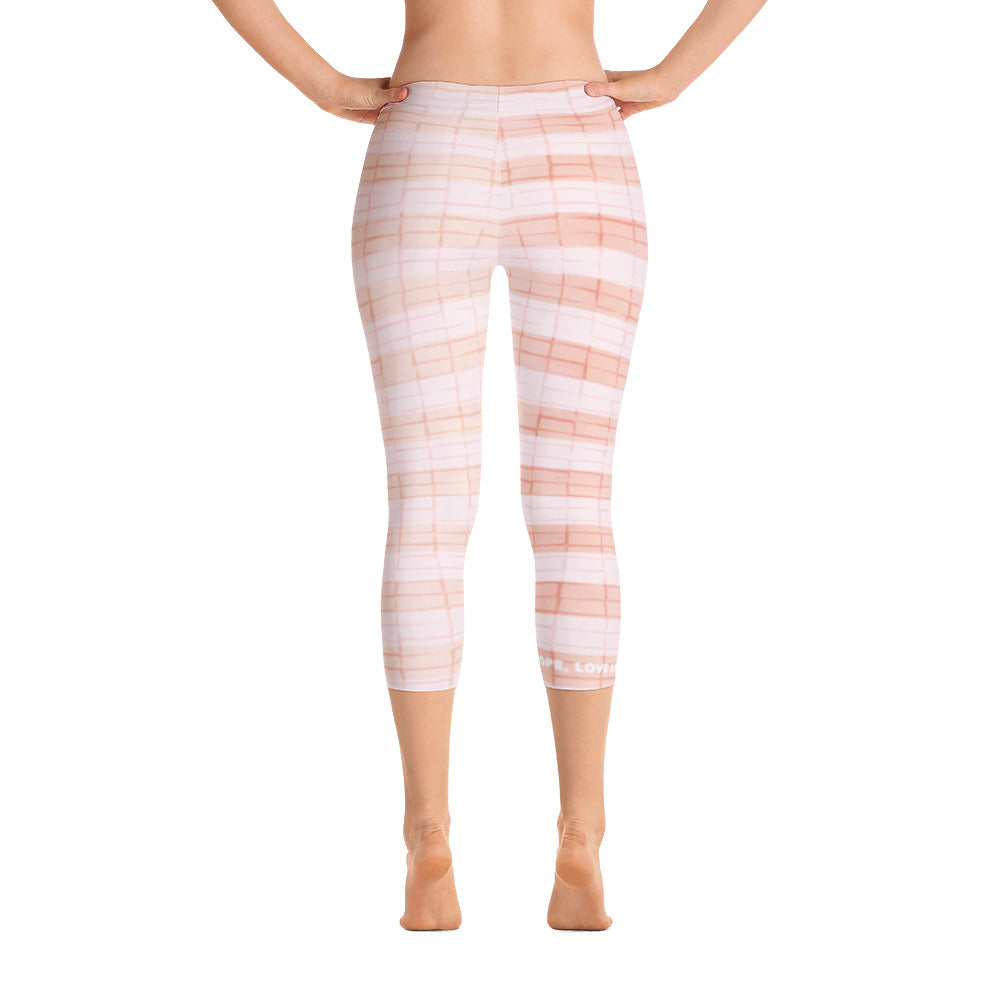 Capri Leggings - Love