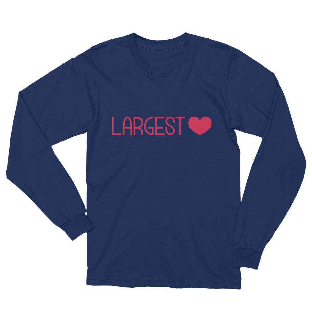 Long Sleeve T-Shirt - Largest Heart