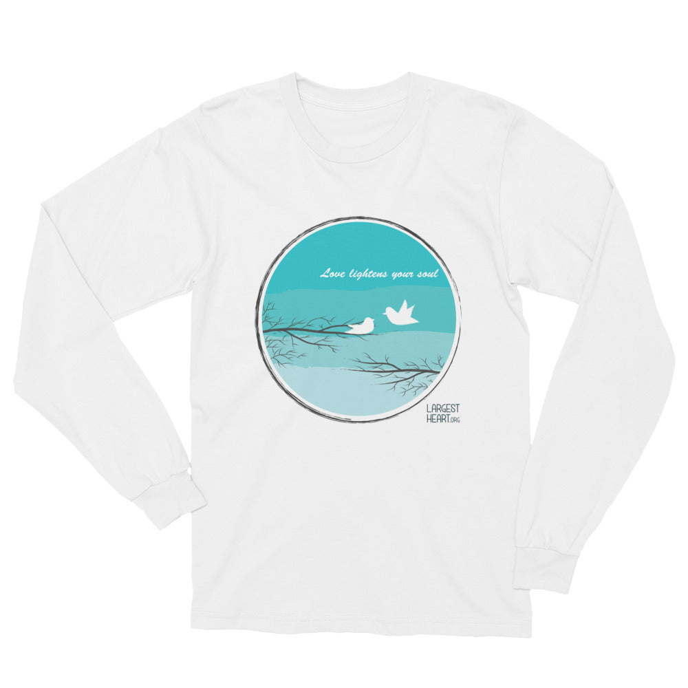 Long Sleeve T-Shirt - Love Lightness the Soul