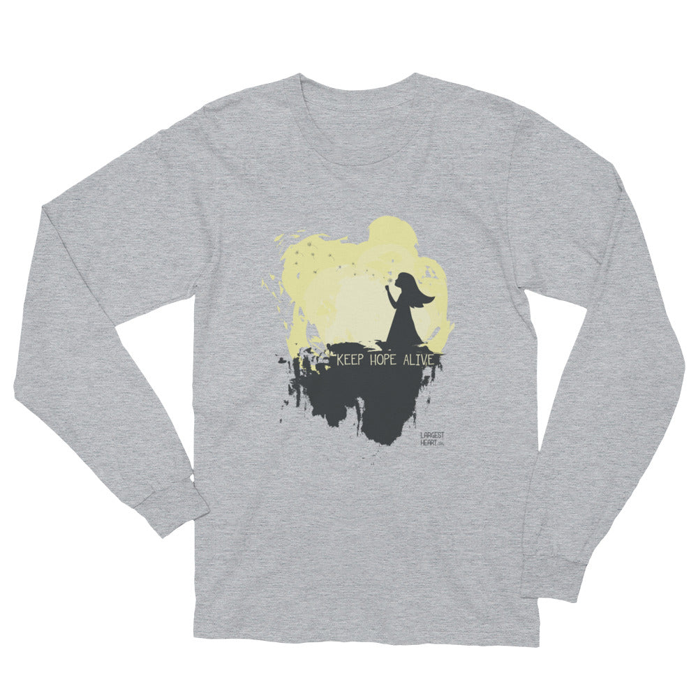 Long Sleeve T-Shirt - Keep Hope Alive
