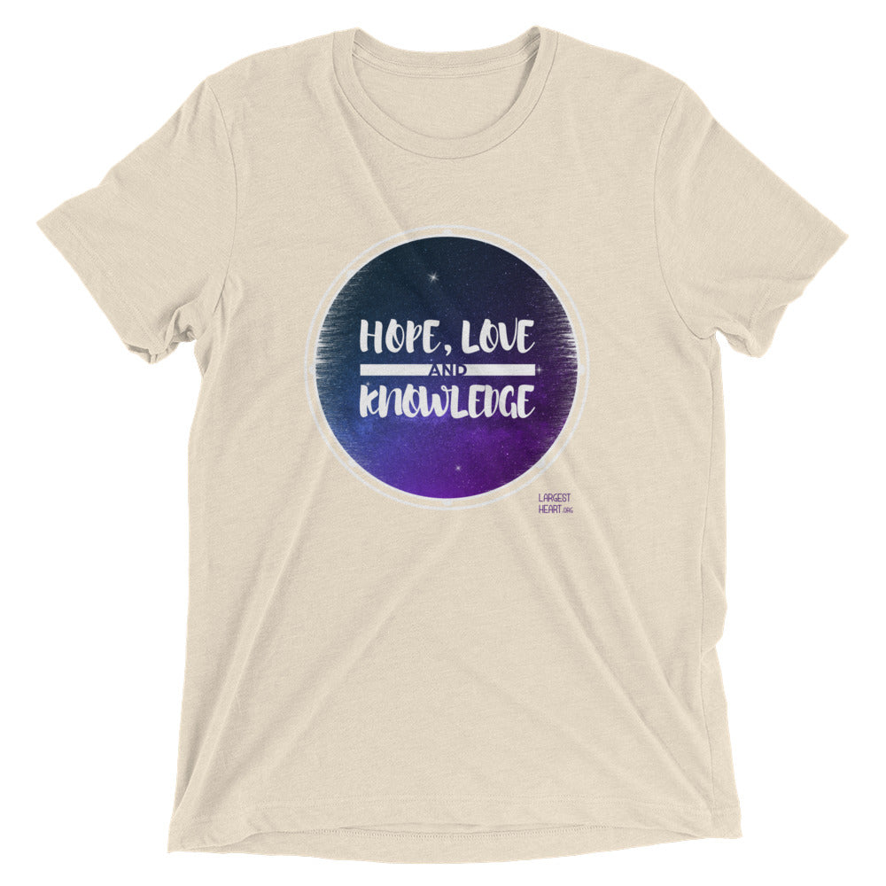 Triblend Short Sleeve T-shirt - HLK Space