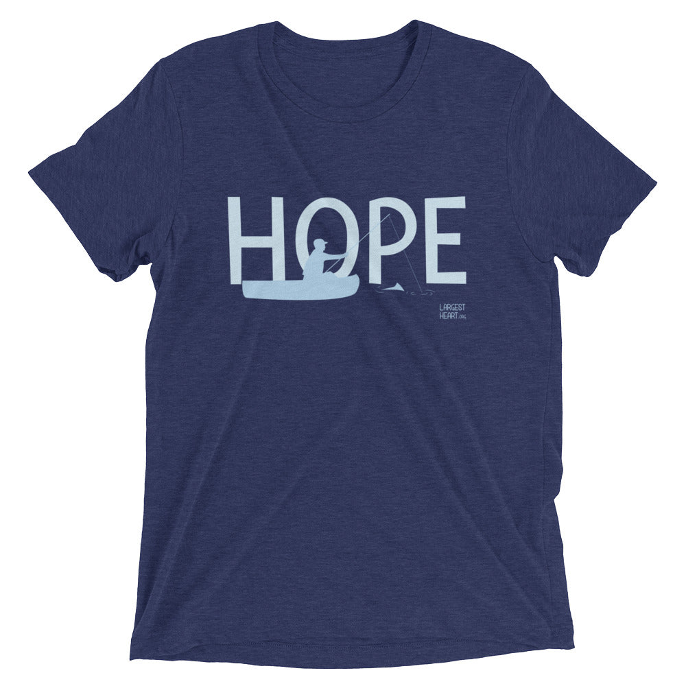 Triblend Short Sleeve T-shirt - Hope Canoe
